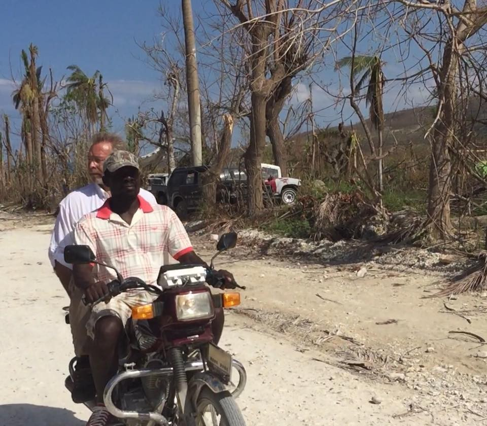 Jim Lange tours Haiti - Hurricane Matthew destruction