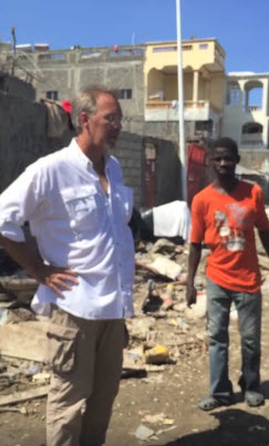 Jim Lange tours Hurricane Matthew destruction in Haiti