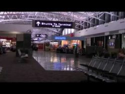 Tampa Airport early morning